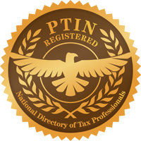 Gold Seal of PTIN Registry